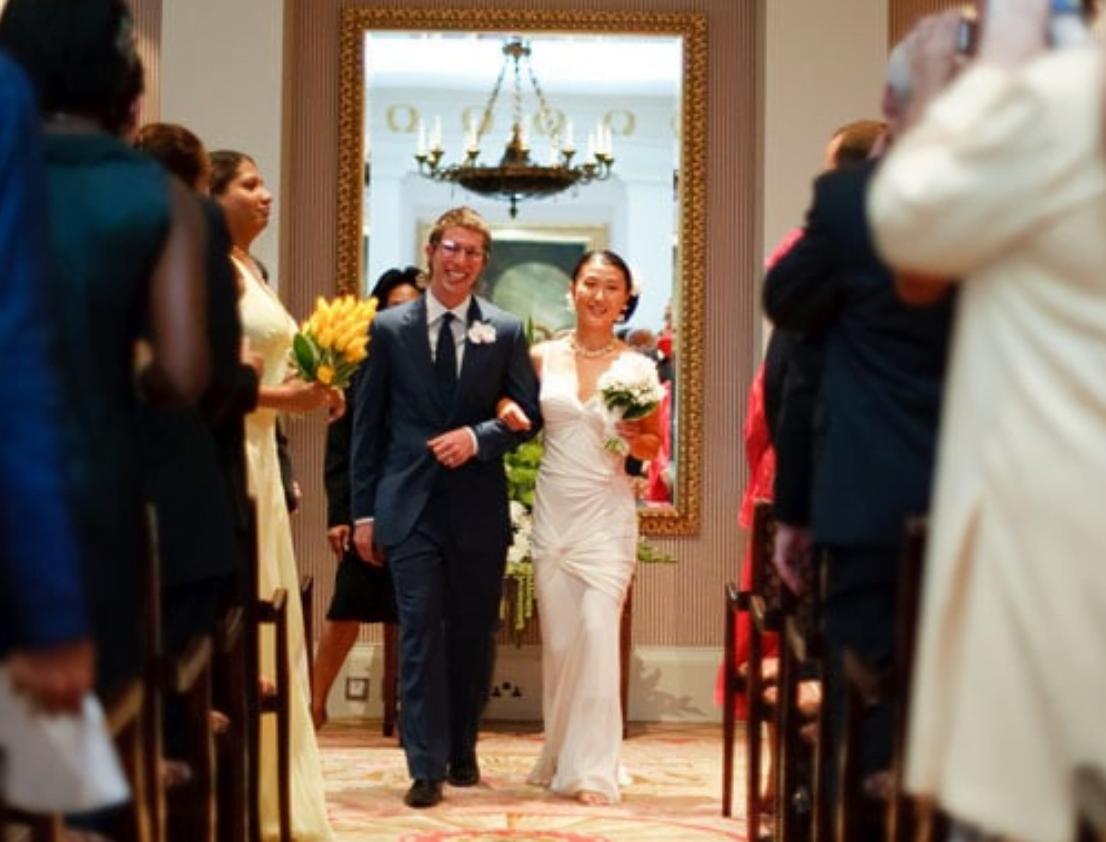 Wedding Ceremony at the Lanesborough Hotel