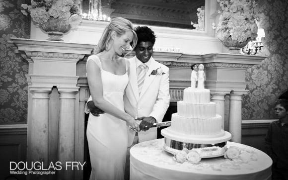 wedding cake photograph London