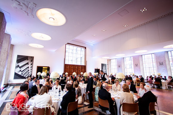Photograph of all the guests at RIBA in London