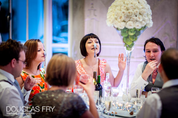 Fun and games photographed at RIBA wedding