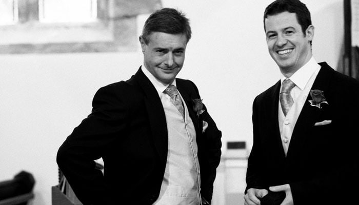 Caroline and James's Wedding Photographs in Mathern, Wales 2