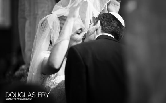First kiss photographed by Douglas Fry