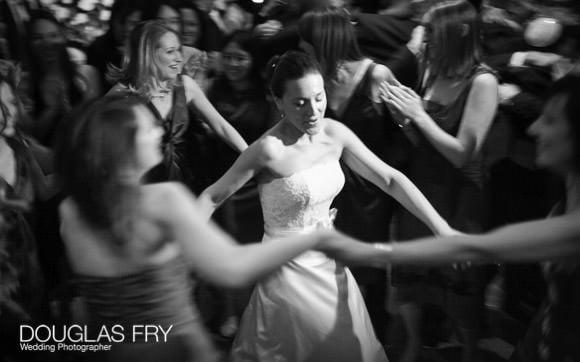 Bride dancing - Jewish wedding at Berekeley Hotel