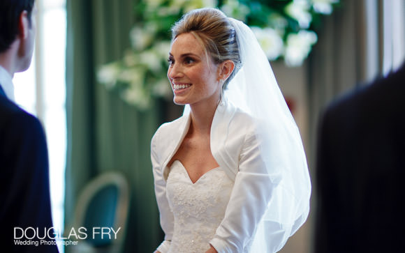 bride photographed by Douglas Fry