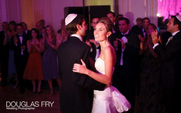 couple dancing at the Mandarin