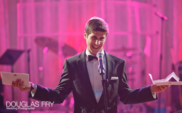 Speeches photographed at London weddingb