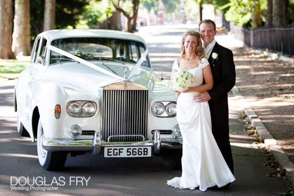 Couple pictured with Rolls Royce in Chelsea