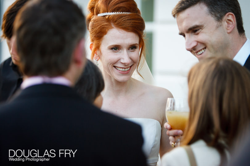 Wedding Photographer Queens House - Greenwich - Bride