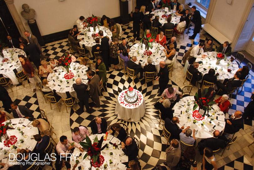 Wedding Photographer Queens House - Greenwich - Dinner