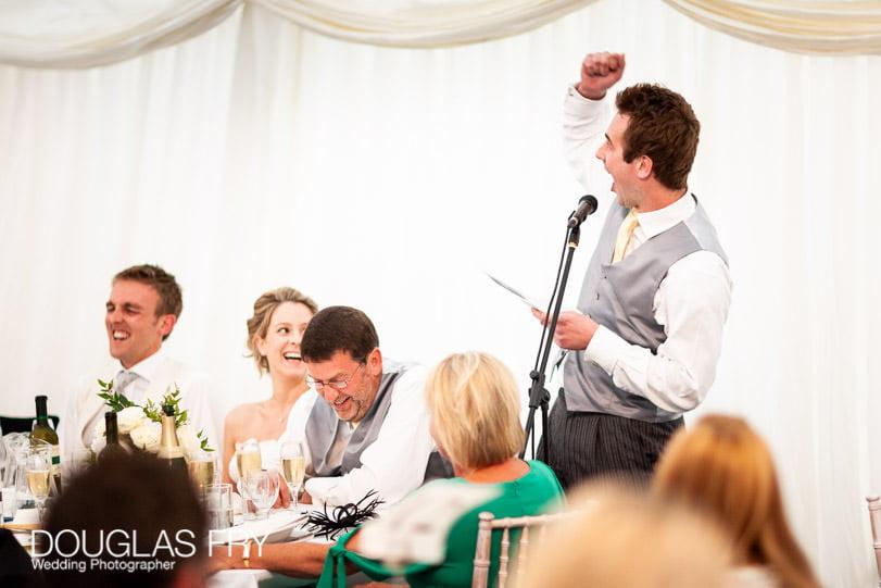 wedding speeches photographer