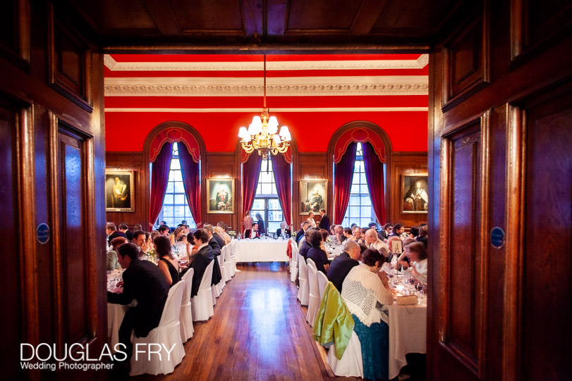 Dinner at HAC for wedding