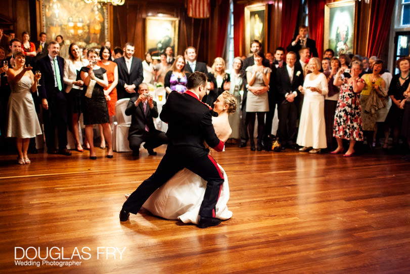 WEdding first dance photographed at HAC in London