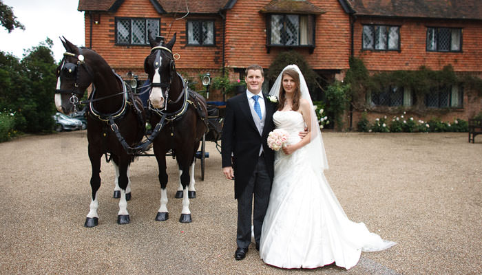 Lizzy and Peter's Wedding Photographs in Hartfield, Sussex 2