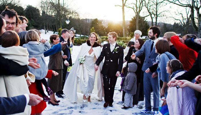 Seonaid and Stu in Buxton, Cheshire - Wedding Photographs 1