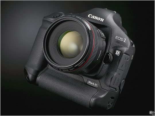 NEWS FLASH - The arrival of TWO new professional Canon cameras -1D MK IV 1