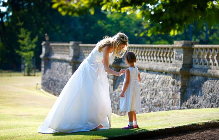 Caroline and James's Wedding Photographs in Mathern, Wales 3