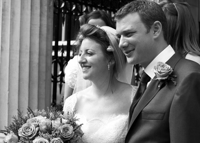 Wedding Photographs at Chandos House in London for Cora and Mark 2