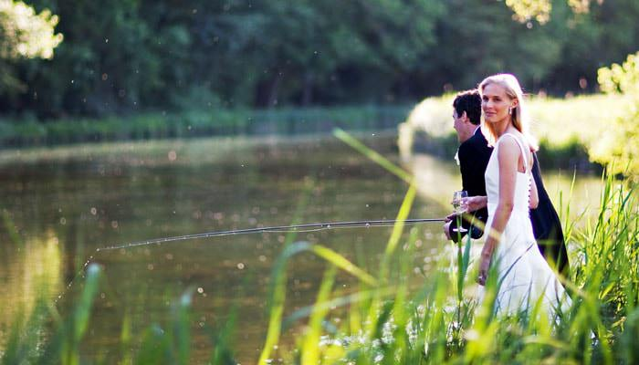 Dodo and Mark - Wedding Photographs in Hampshire 1