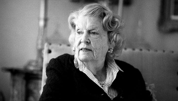 Portrait Photographs of Granny - black and white 3