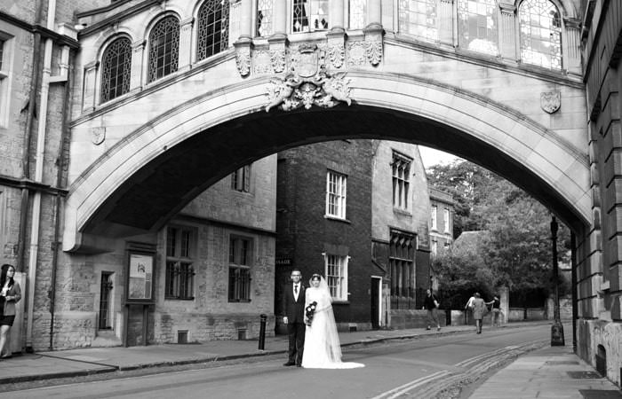 Hannah and Paul's Wedding Photographs at Brasenose College and the Randolph Hotel in Oxford 3