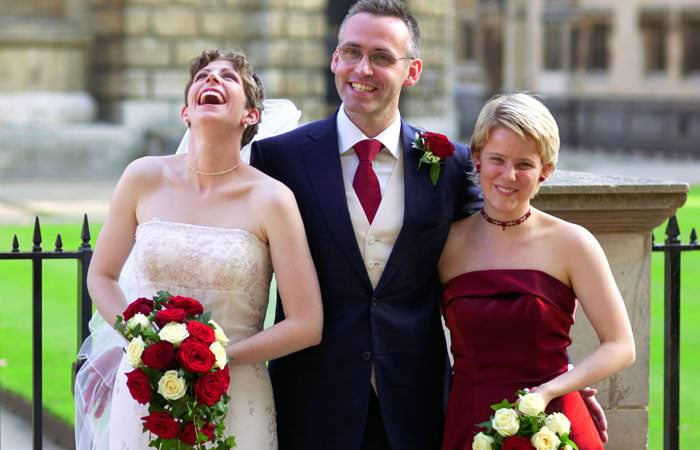 Hannah and Paul's Wedding Photographs at Brasenose College and the Randolph Hotel in Oxford 2