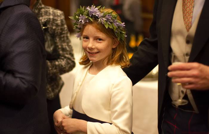 Helen and William's Wedding Photographs at St Stephen Walbrook and Skinners Hall in London 3
