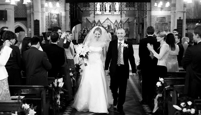 Janet and Chris's Wedding Photographed at the Phoenix in Putney 1