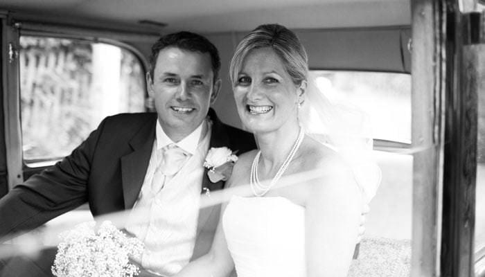 Karen and Ian's Wedding Photographs in Surrey 1