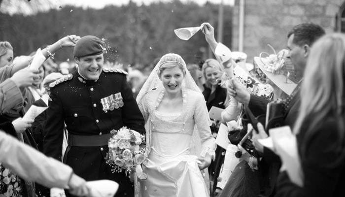 Lucy and Toby Wedding Photographs in Aboyne, Scotland 1
