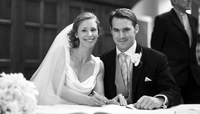 Mim and William's Wedding Photographs in Leicestershire 1