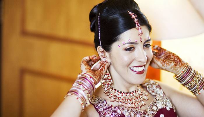 Michelle and Kamal's Wedding Photographed at The Copthorne Hotel, Gatwick 1