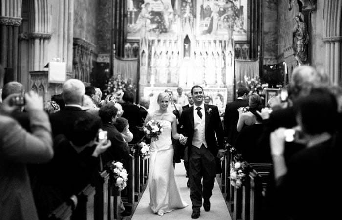 Nicki and Dan's Wedding Photographs at Farm Street Church and the Carlton Club, London 4
