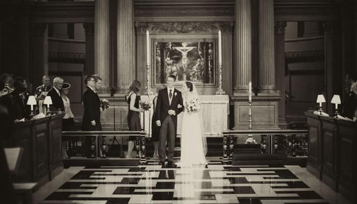 2 Recent Weddings Photographed at St Brides Church & The Honourable Society Inner Temple, London 2