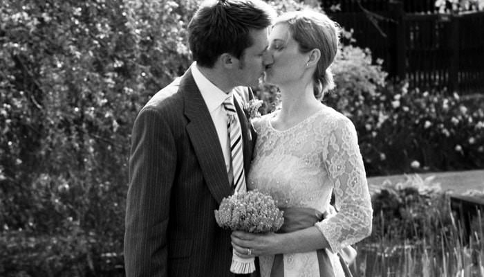Stefanie and Adam's Wedding Photographed at The Priory at Little Wymondley 2