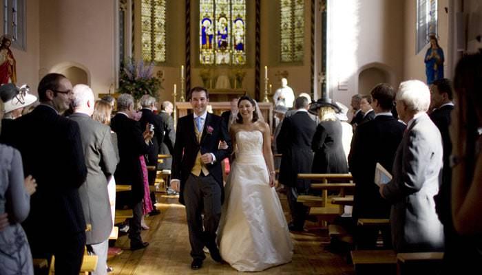 Wedding Photographer Rousham House & St John Church, Banbury 3