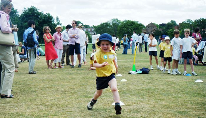 School sports day photograph