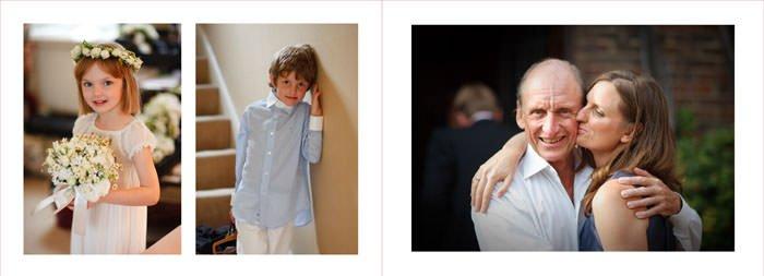 Wedding photo album - chelsea, London by photographer