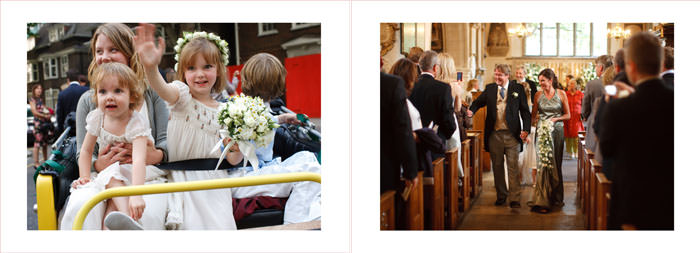 Wedding photo album - chelsea, London by photographer