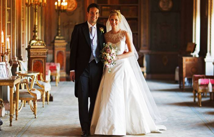 Wedding Photographer - Bride and Groom, in Syon House, London