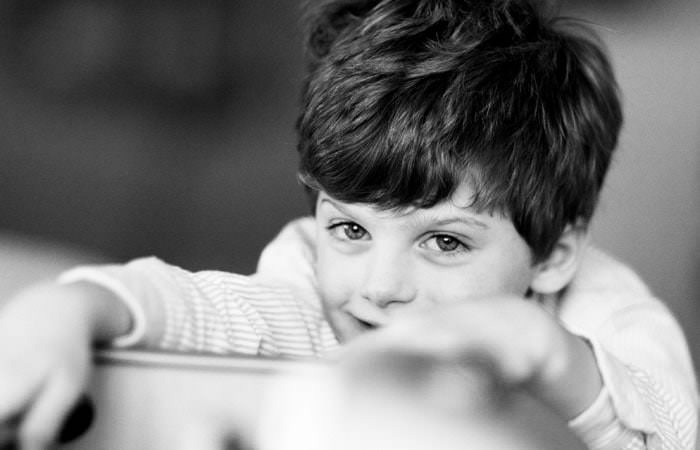 Family Photography one of the Fenwick Boys at Home in Gloucestershire