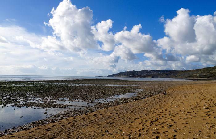 Photograph of Charmouth Beach