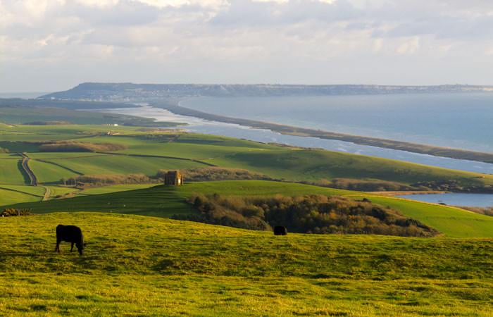 Photograph of the Fleet, Dorset - Beautiful View of the Sea