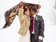Winter wedding photography in oxfordshire at Heythrop Park