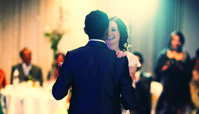 Bride and Groom Dancing Wedding Photograph at Heythrop Park, Oxfordshire