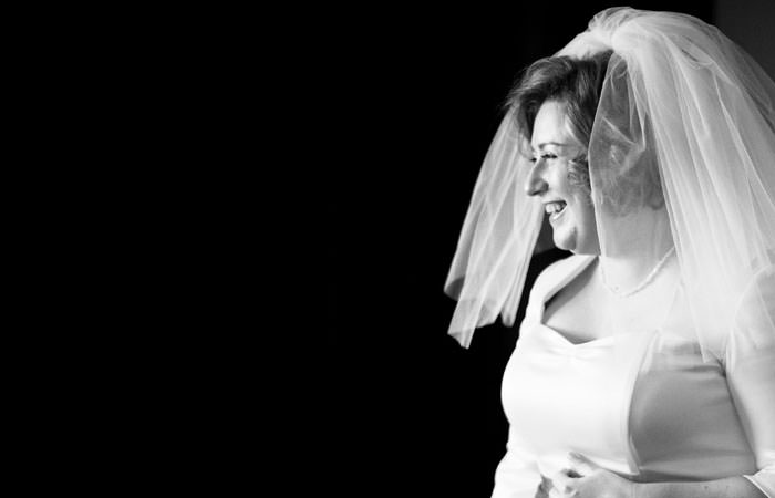 Bride Wedding Photographer Hilton Hotel London