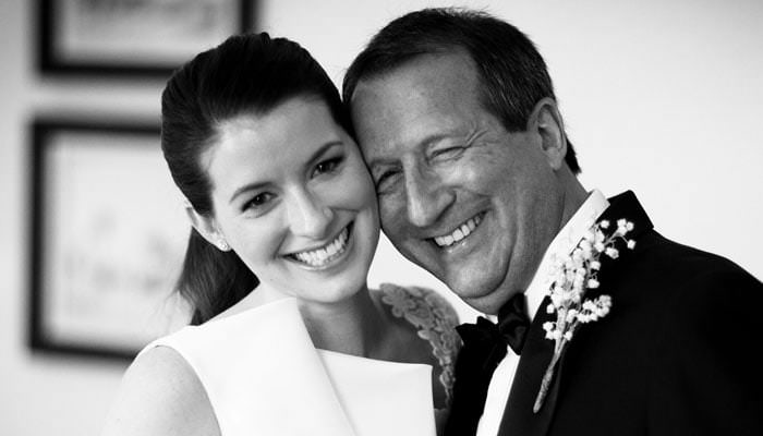 Jewish Wedding Photography in London - Bride and Father