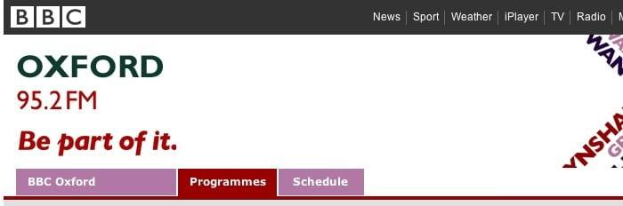 Radio BBC Oxford Logo