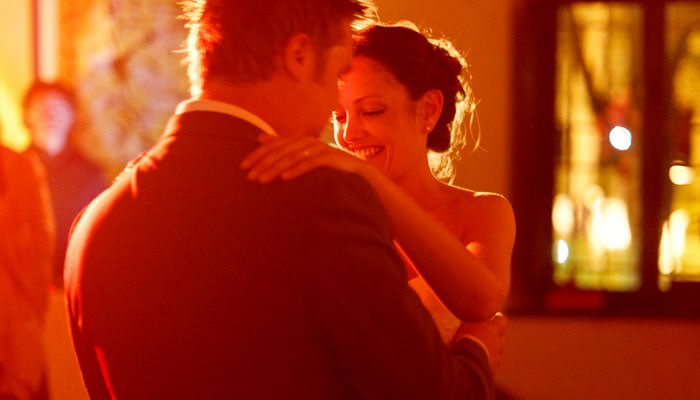Dancing at Wedding in Italy