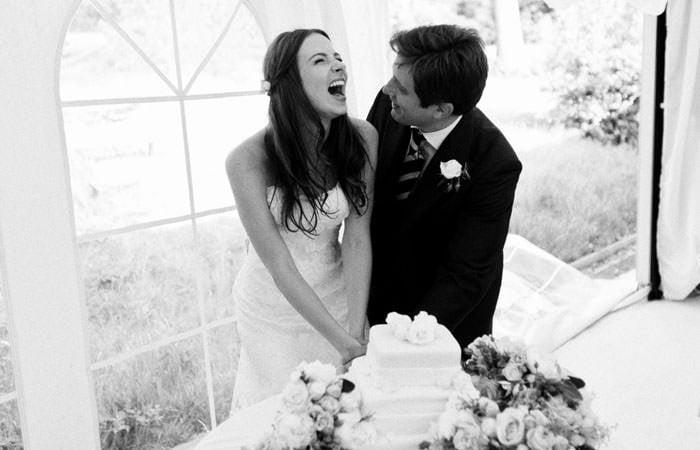 Wedding Photography Richmond Golf Club - Cutting the Cake