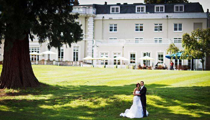 Wedding Photograph Golf Club in Surrey